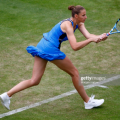 Pliskova in action in Birmingham last week (Getty Images/Morgan Harlow)