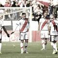 Los jugadores del Rayo Vallecano tras el gol de Raúl de Tomás | Imagen: www.laliga.es