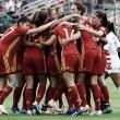 Un histórico paso más hacia la gloria con nuevo gol de Patri Guijarro