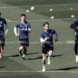 Los internacionales vuelven a entrenar con el Real Madrid