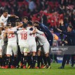 Sevilla 3-3 Liverpool: Reds concede last minute goal as hosts conjure dramatic fightback