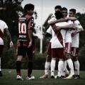 La sexta protagonizó uno de los duelos más parejos de la fecha ante el Patrón: fue victoria del equipo de Rivarola por 3-2. Foto: Prensa River