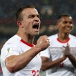Serbia 1-2 Switzerland: Mitrović opener cancelled out by Swiss second half comeback