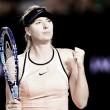 Sharapova continúa su camino