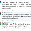 El CD Boiro elige al sustituto de Fredi Álvarez: Fredi Álvarez