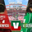 Resultado Benfica vs Vitória Setúbalen la Liga Portuguesa 2015(3-0)