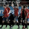 Carlos Soler festeja uno de sus goles I Foto: EFE