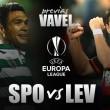 Sporting de Portugal - Bayer Leverkusen, duelo entre aspirantes
