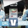 Spal - Napoli in diretta, LIVE Serie A 2017/2018