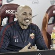 """Luciano Spalletti: """"No ganar mañana significaría cooperar con el Napoli y la Juventus"""""""