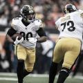 Gran tarde de James Conner // Foto: Steelers