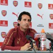 Arsenal Head Coach Emery calls squad 'complete' ahead of first match