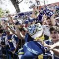 Recibimiento al equipo alicantino | Hércules CF (Carla Cortés)