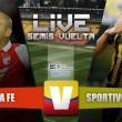 Resultado Santa Fe vs Sportivo Luqueño en vivo en Copa Sudamericana (0-0)