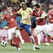 Xhaka y Lichtsteiner frenan a Brasil