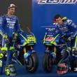 Moto GP, svelata la nuova Suzuki di Iannone e Rins