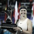 WTA Dubai: Elina Svitolina successfully defends her title with win over Daria Kasatkina
