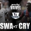 Swansea - Crystal Palace: tendencias opuestas