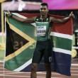 World Athletics Championships: Wayde Van Niekerk eases to 400m gold