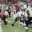 Arizona golpea a Tennessee en un partido dominado por las defensas