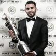 Riyad Mahrez, mejor jugador del año en Inglaterra