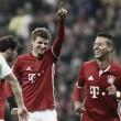 """Müller encerra jejum de 11 jogos sem marcar e celebra: """"Agora somos líderes"""""""