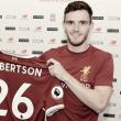 """Andrew Roberton ficha por el Liverpool: """"Quiero demostrarle a la gente que puedo dar el nivel"""""""