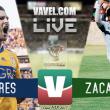 Resultado y goles del Tigres (1-3) Atlético Zacatepec Copa MX 2017