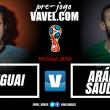 Uruguai enfrenta Arábia Saudita para confirmar favoritismo e vaga ao mata-mata