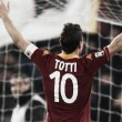 Totti Climbing the Ladder