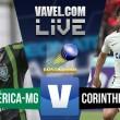 Jogo América MG x Corinthians ao vivo online pelo Campeonato Brasileiro 2016 (0-1)