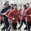 El Almería inicia una semana en la que no tendrá descanso