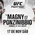 Ponzinibbio y Magny, un duelo electrizante para el debut de UFC en Argentina (Foto: UFC en Español)