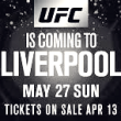 UFC Liverpool, a pura adrenalina