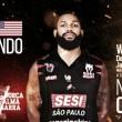 Tem MVP chegando: David Jackson é novo reforço do Sesi/Franca