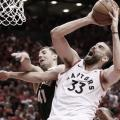 Playoffs NBA: los Raptors descontaron en las finales del Este