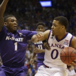 Four Double Digit Scorers Lead Kansas To Victory Over Kansas State 68-57