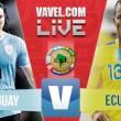 Resultado Ecuador vs Uruguay en Eliminatorias (2-1)