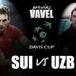 Copa Davis 2016. Uzbekistán - Suiza: historia o supervivencia
