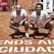 Cabal y Farah se coronaron en Buenos Aires