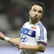 Decepcionante temporada la de Mathieu Valbuena en el Olympique de Lyon