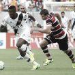 Contra o Santa Cruz, Vasco volta a perder após dez jogos e cai para 3ª colocação