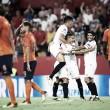 Sevilla aguenta pressão no fim e avança à fase de grupos da UCL ao empatar com Basaksehir