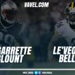 Bell vs Blount: qual dos dois causará mais dano à defesa adversária?