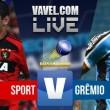 Resultado Sport x Grêmio no Campeonato Brasileiro 2017 (4-3)