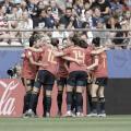 España 1-2 Estados Unidos: despedida con la cabeza bien alta