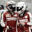 """Vettel: """"Questione di tempismo nel fare il tempo"""". Raikkonen: """"Non ho saputo spingere a sufficienza"""""""