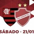 Vila Nova x Flamengo AO VIVO agora (0-0)