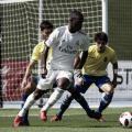 Vinícius, el día de su debut con el Castilla | Foto: Daniel Nieto (VAVEL)