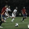 Vitolo no participa en la sufrida victoria de España en Macedonia
